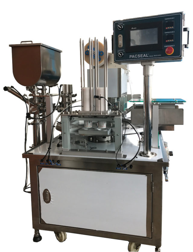 Rotary Auto Cup/Tray Sealer Image